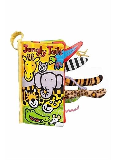 Jelly Cat Jellycat Bez Kitap Jungly Tails Renkli